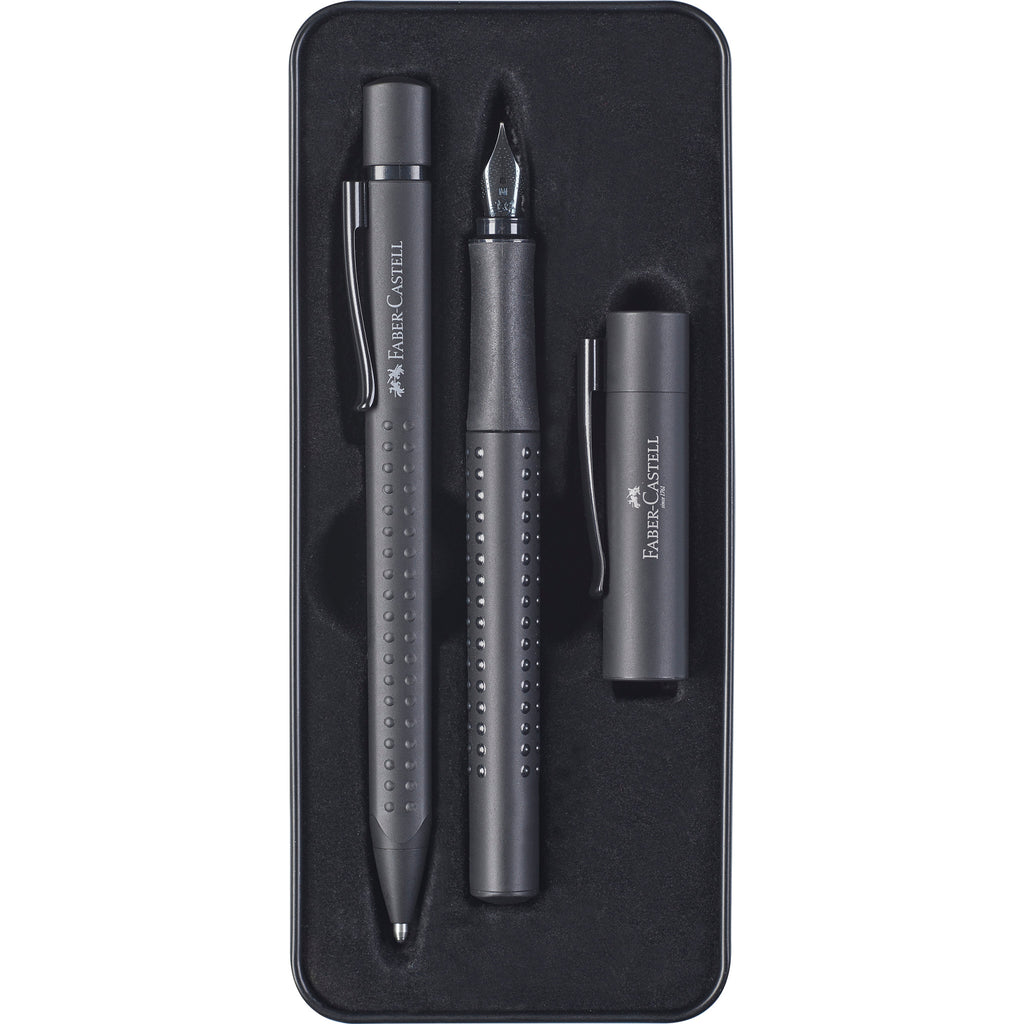 Grip® 2011 Gift Tin: Fountain Pen and Ballpoint - Black Edition - #201626