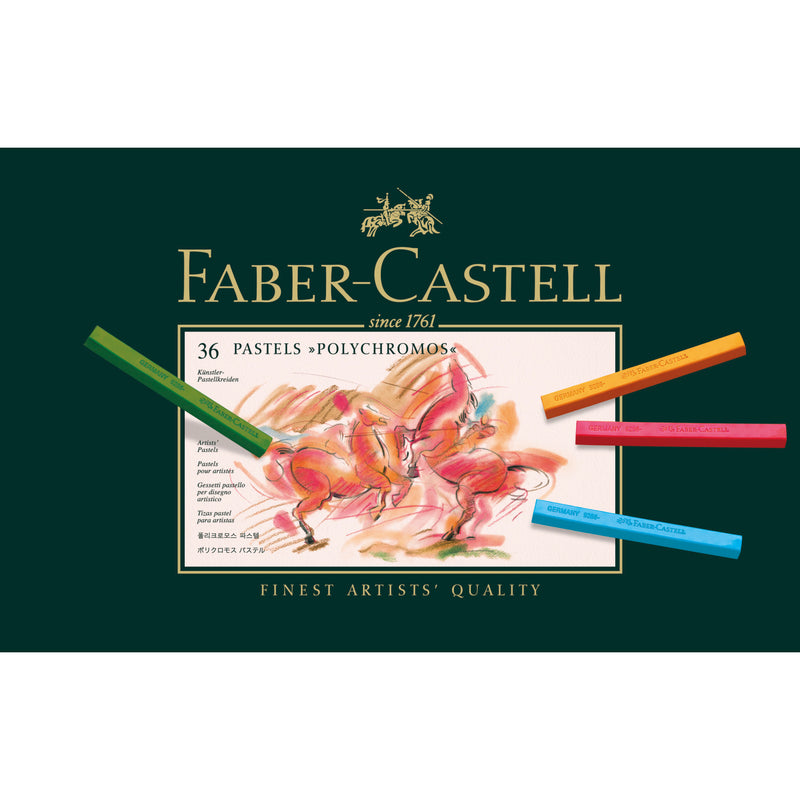 Polychromos® Artists' Pastel Crayons - Tin of 36 - #128536