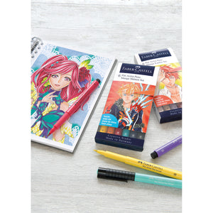 Pitt Artist Pen Manga Shonen - Wallet of 6 - #167157