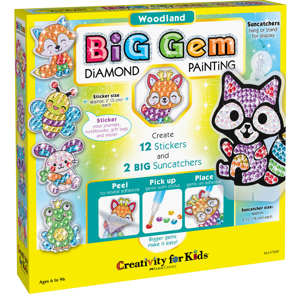 Big Gem Diamond Painting – Woodland - #6247000