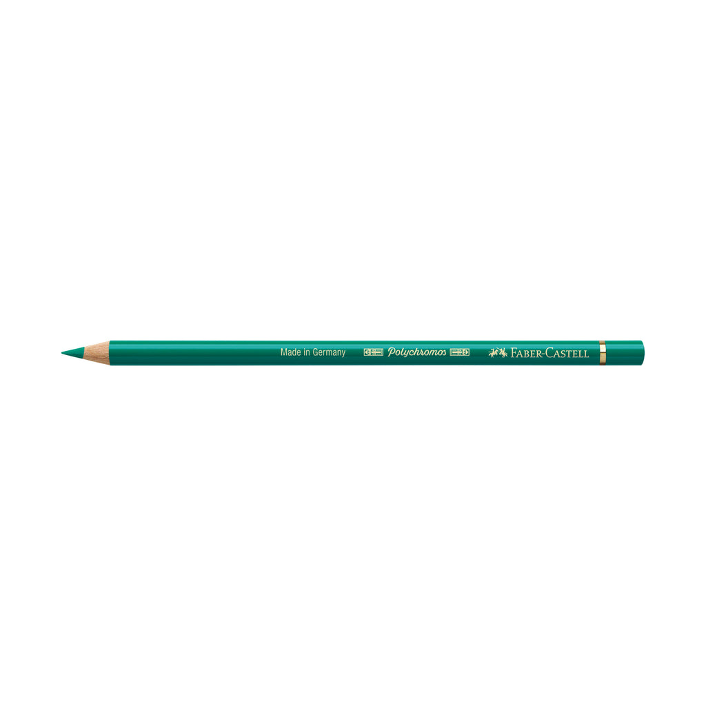 Polychromos® Artists' Color Pencil - #161 Phthalo Green - #110161