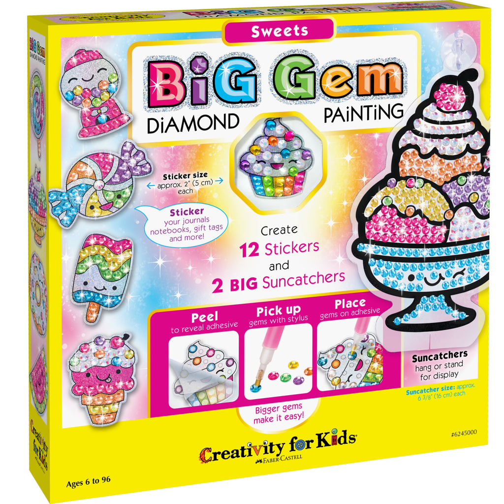 Big Gem Diamond Painting – Sweets - #6245000