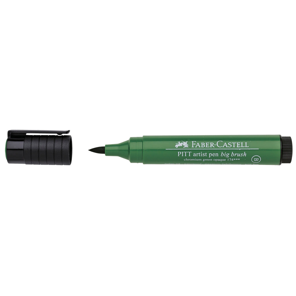 Pitt Artist Pen® Big Brush - #174 Chromium Green Opaque - #167676