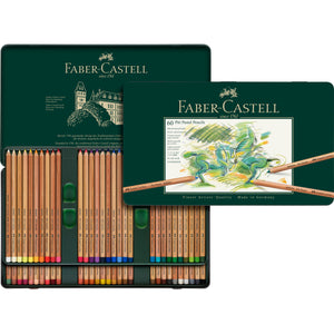 Pitt® Pastel Pencils - Tin of 60