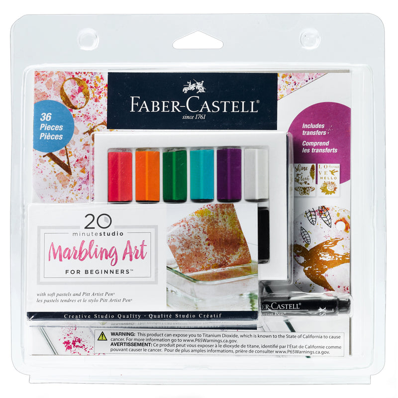 20 minute studio Marbling Art FOR BEGINNERS - #770806T
