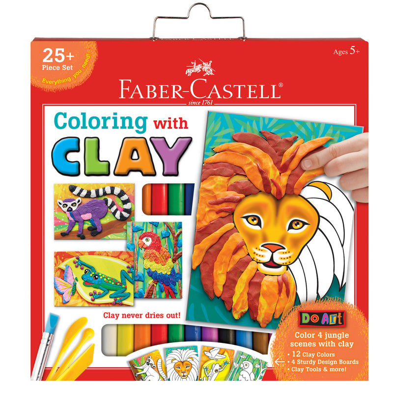 Do Art Coloring with Clay - #14329