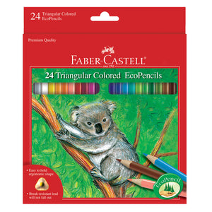 24 Triangular Colored EcoPencils - #9120524