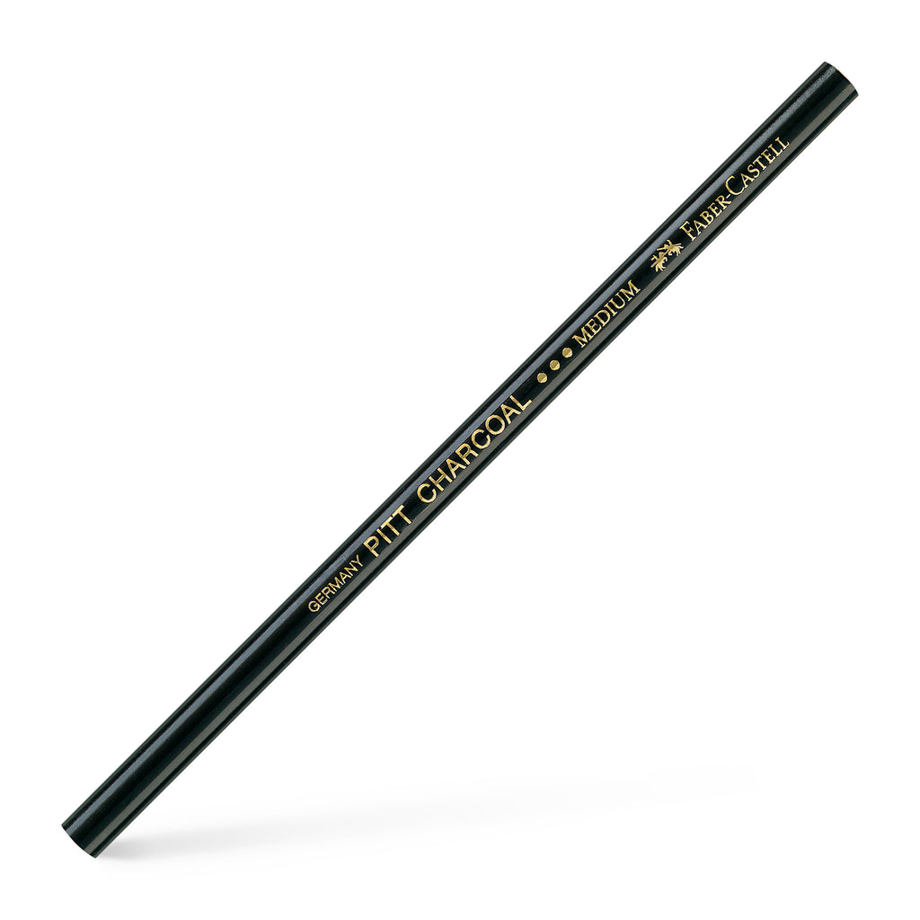 Pitt® Natural Charcoal Pencil - Medium