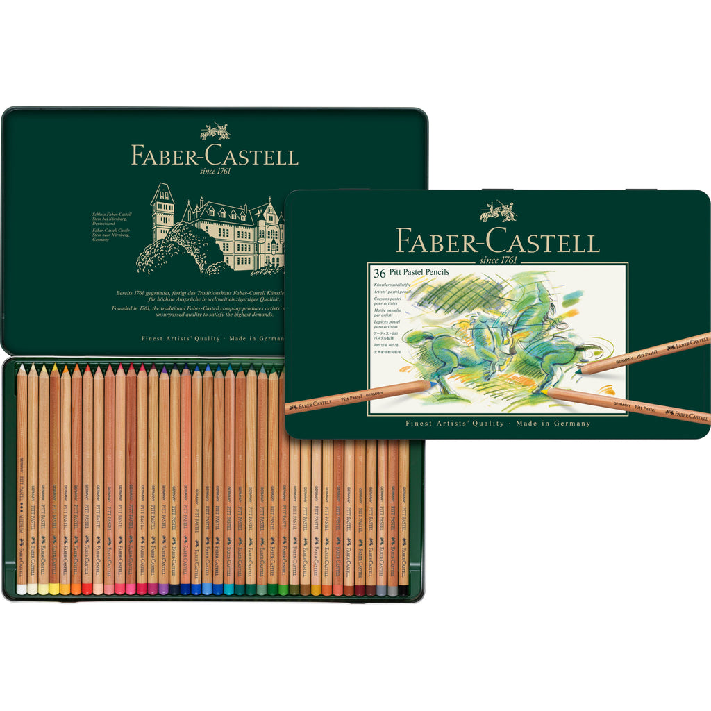 Pitt® Pastel Pencils - Tin of 36 - #112136
