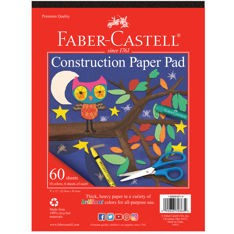 Construction Paper Pad - #14553
