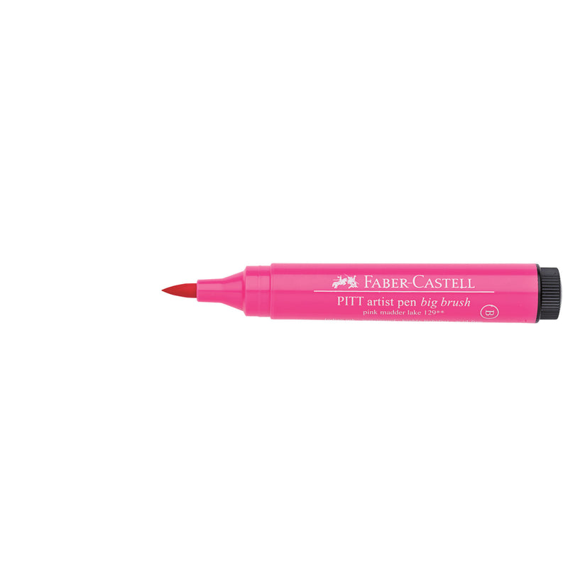 Pitt Artist Pen® Big Brush - #129 Pink Madder Lake - #167629