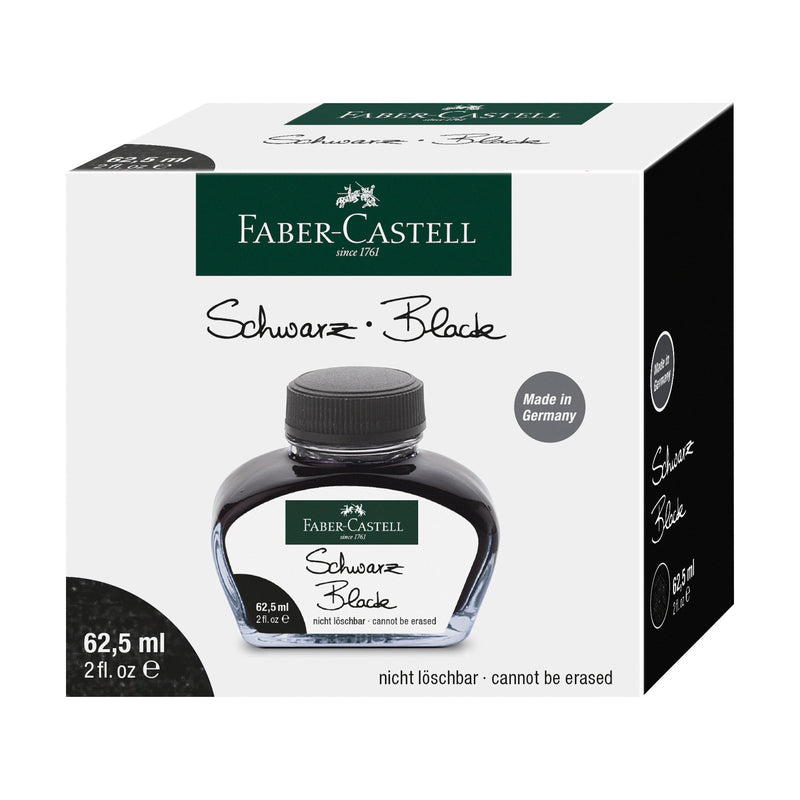 Fountain Pen Ink Bottle 62.5 ml - Black - #148700