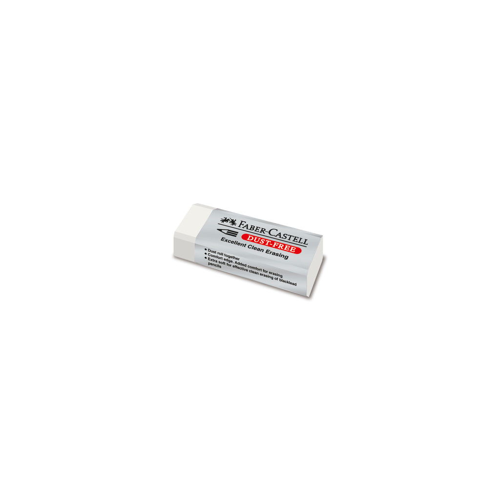Dust-Free Art Eraser - White - #187120