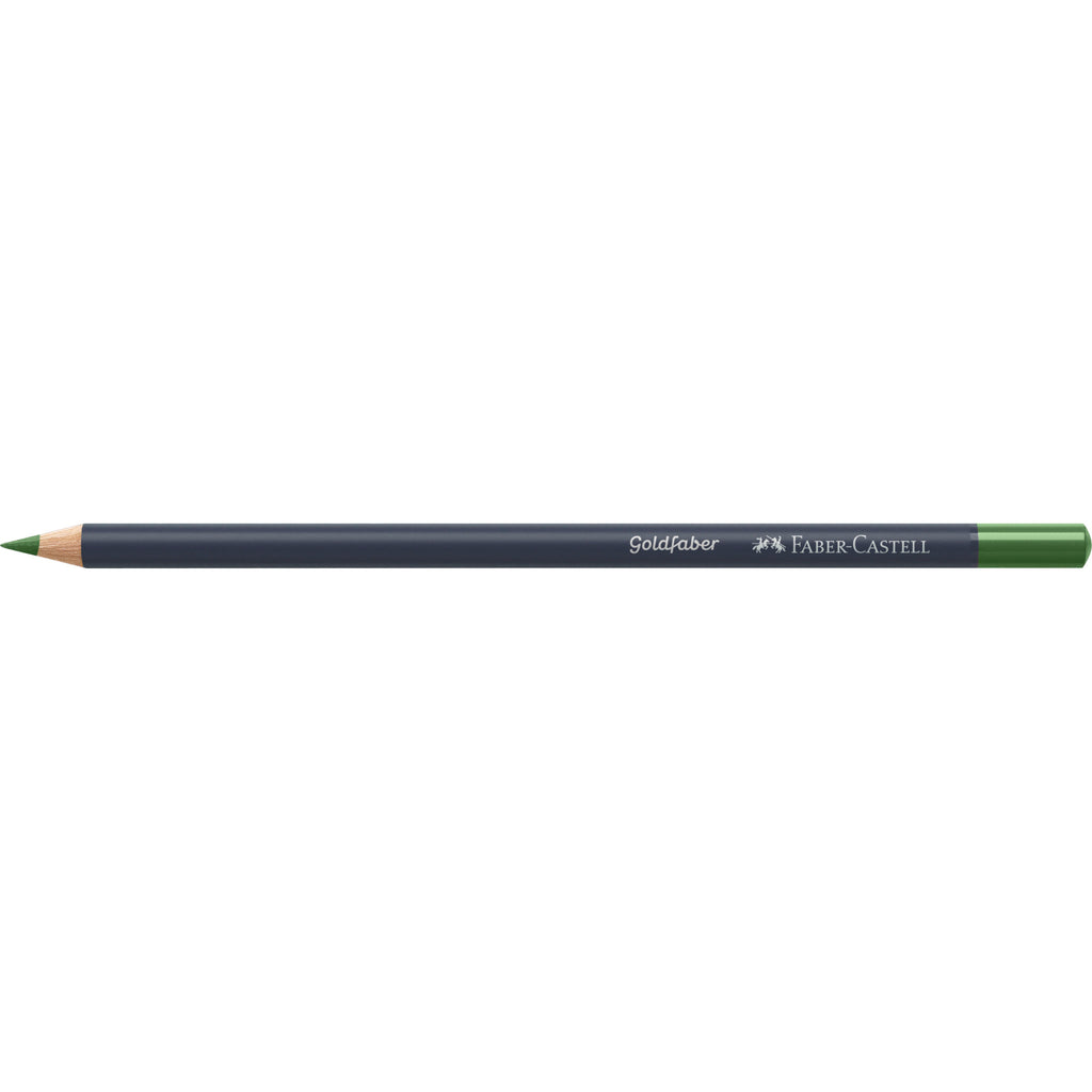 Goldfaber ™ Color Pencil - #167 Permanent Green Olive
