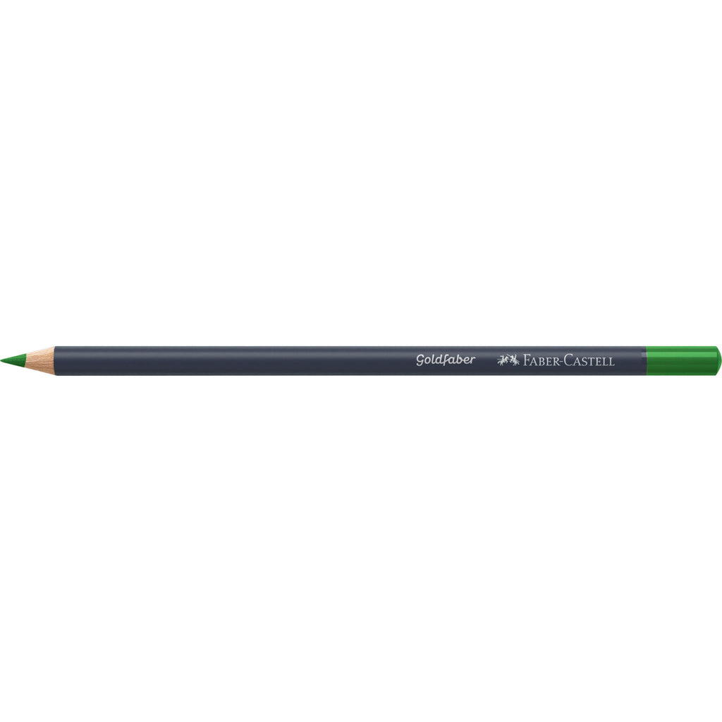 Goldfaber Color Pencil - #166 Grass Green - #114766