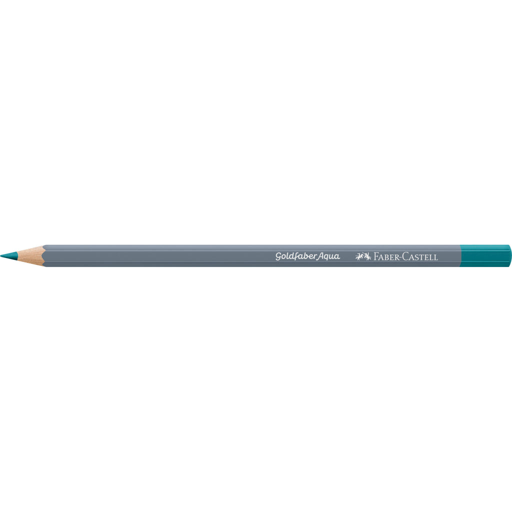 Goldfaber Aqua Watercolor Pencil - #154 Light Cobalt Turquoise - #114654