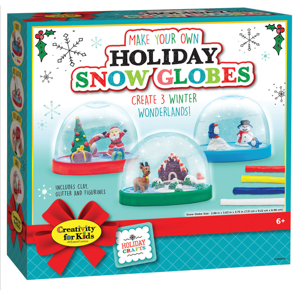 Make Your Own Holiday Snow Globes