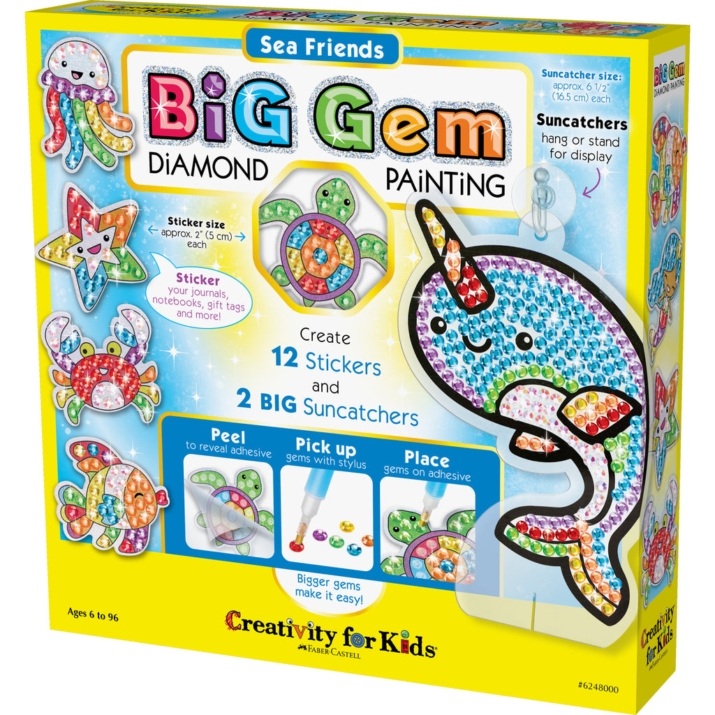 Big Gem Diamond Painting – Sea Friends - #6248000