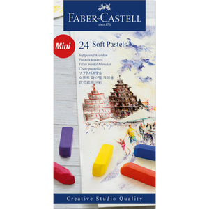 Soft Pastel Half Length Sticks - Box of 24 - #128224