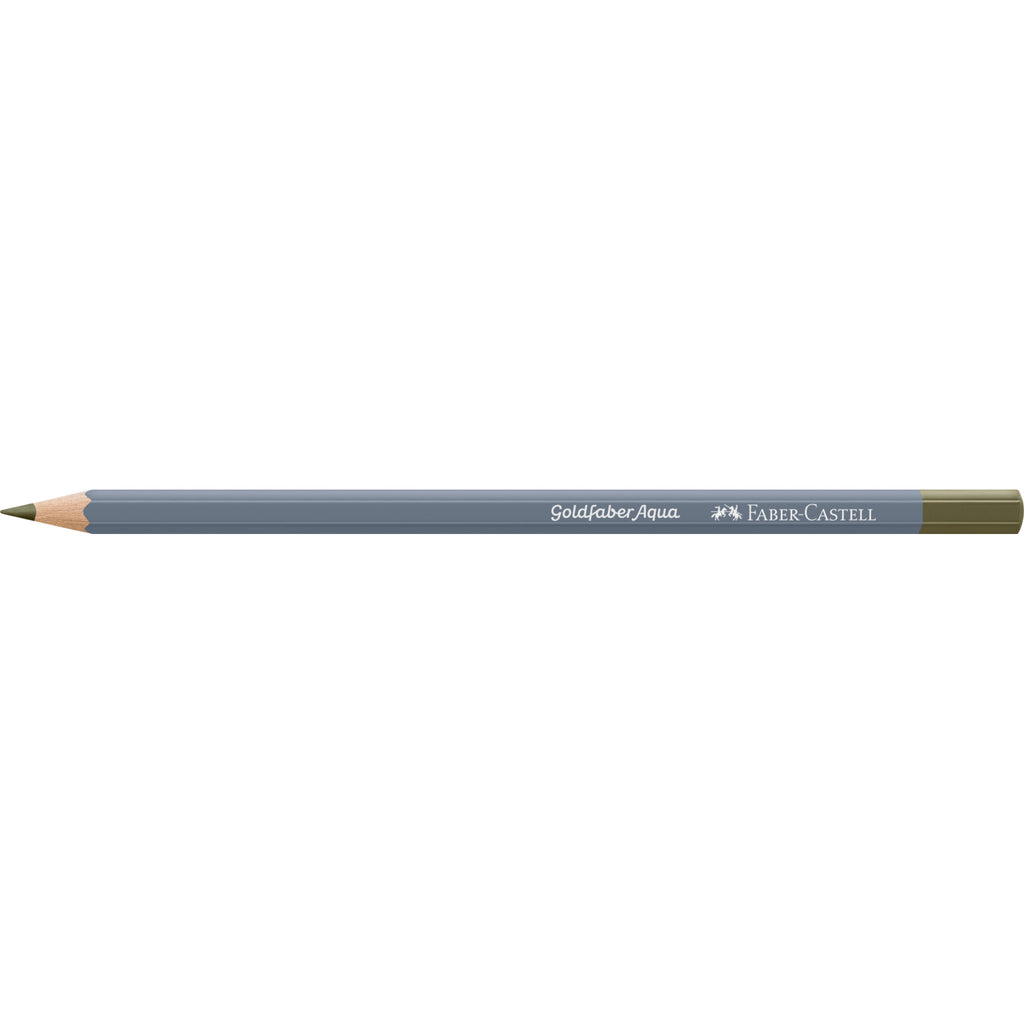 Goldfaber Aqua Watercolor Pencil - #173 Olive Green Yellowish - #114673