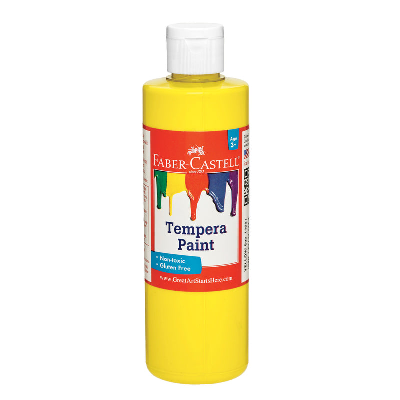 Yellow Tempera Paint (8 oz. bottles) - #14581