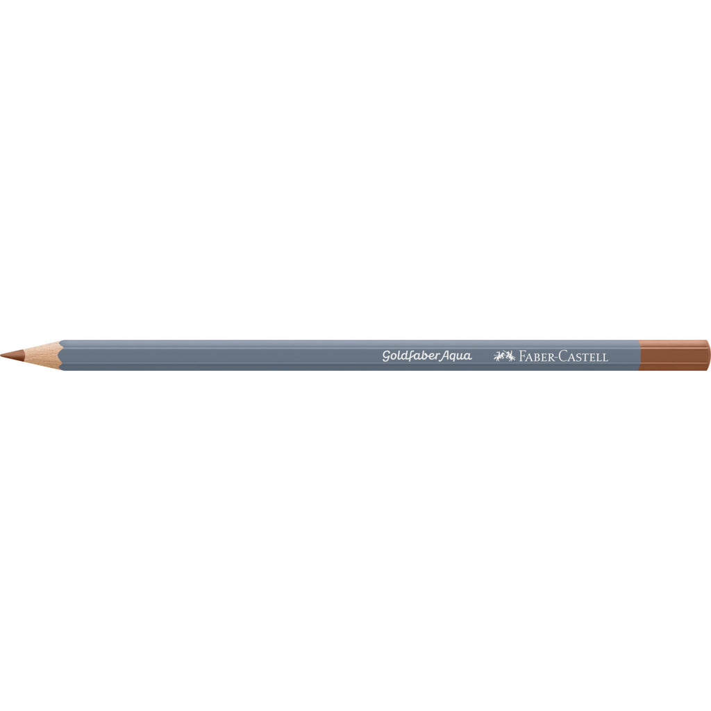 Goldfaber Aqua Watercolor Pencil - #283 Burnt Sienna - #114697