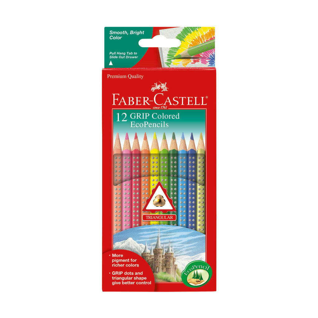 12 Grip Colored EcoPencils - #9121012