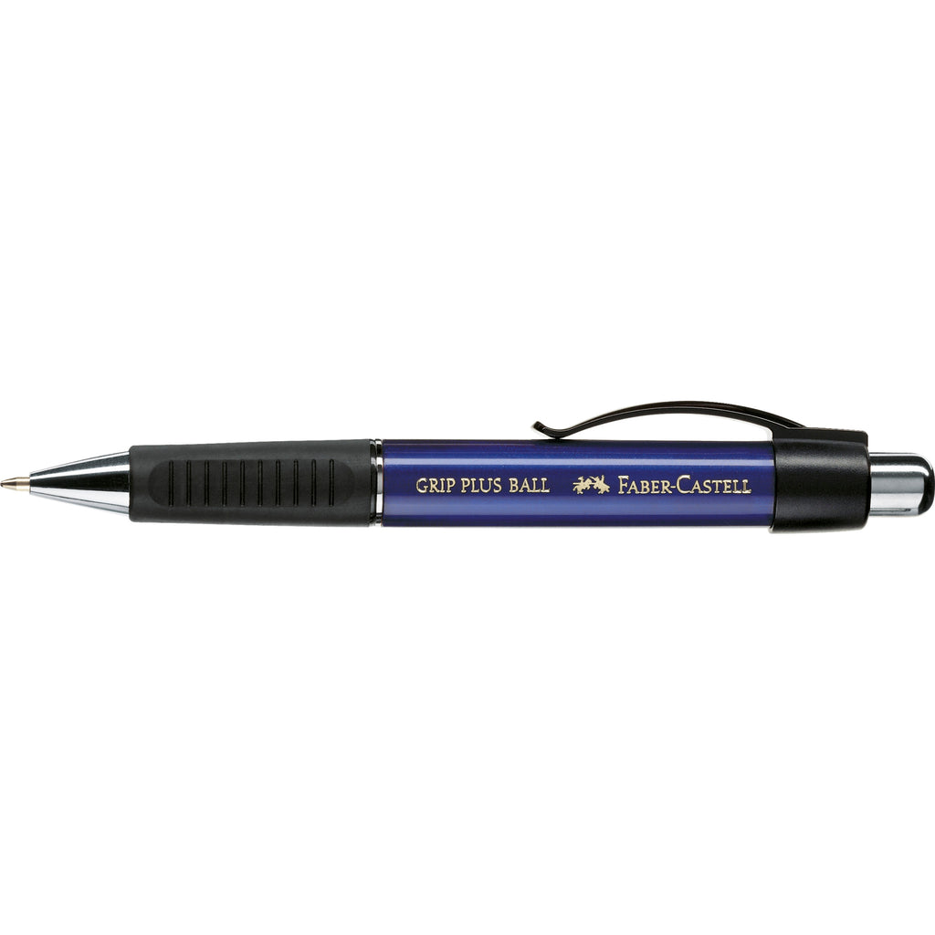 Grip Plus Ballpoint Pen - Metallic Blue - #140732