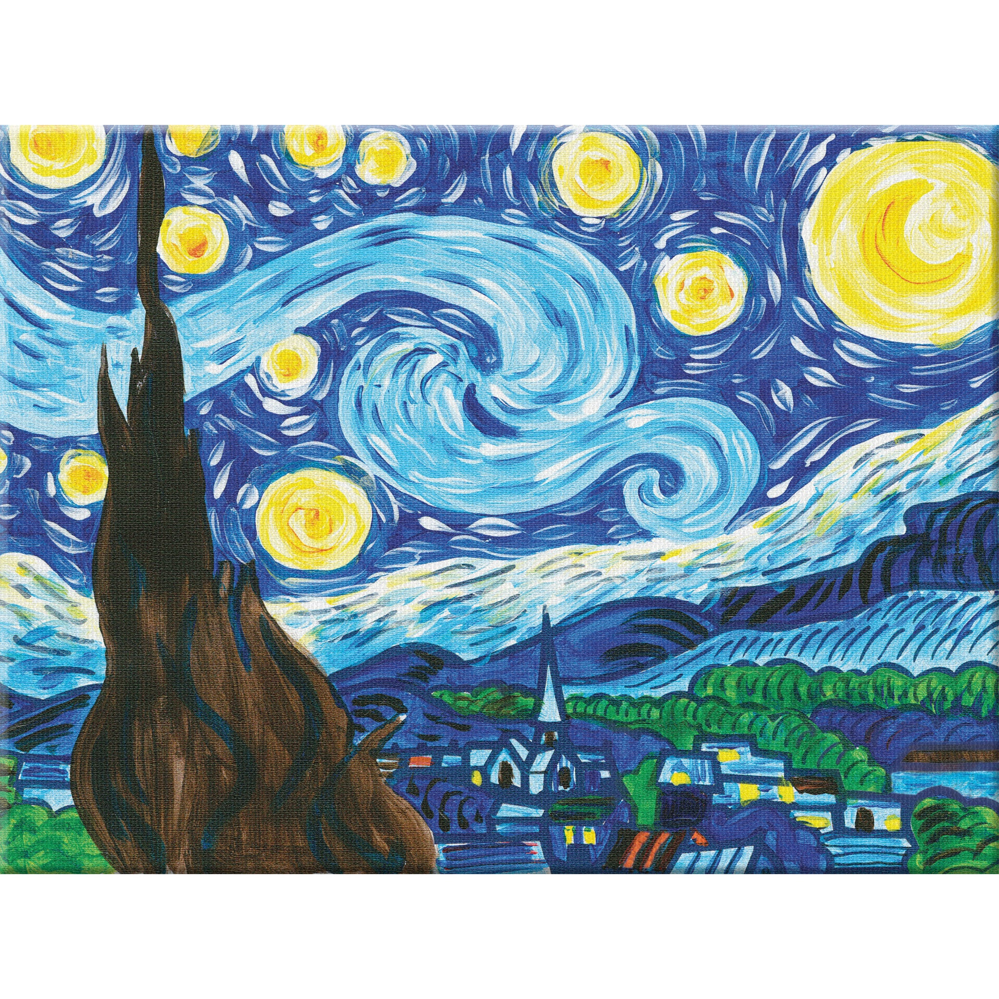Paint By Number Museum Series The Starry Night 14301 Faber Castell Usa
