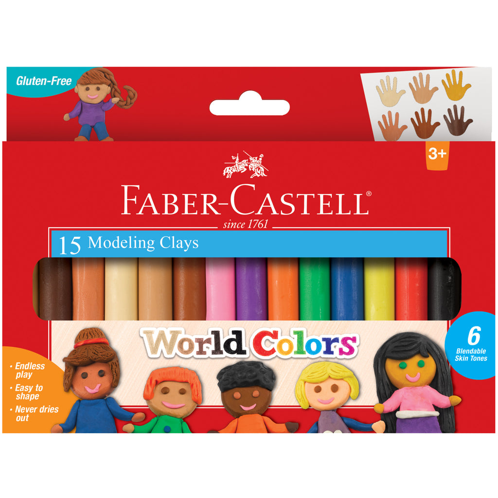World Colors - 15ct Modeling Clay - #14353
