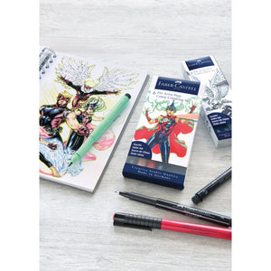 Pitt Artist Pen® Comic Coloring Set - Wallet of 6 - #267196