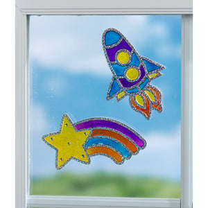 Window Art Outer Space - #6292000