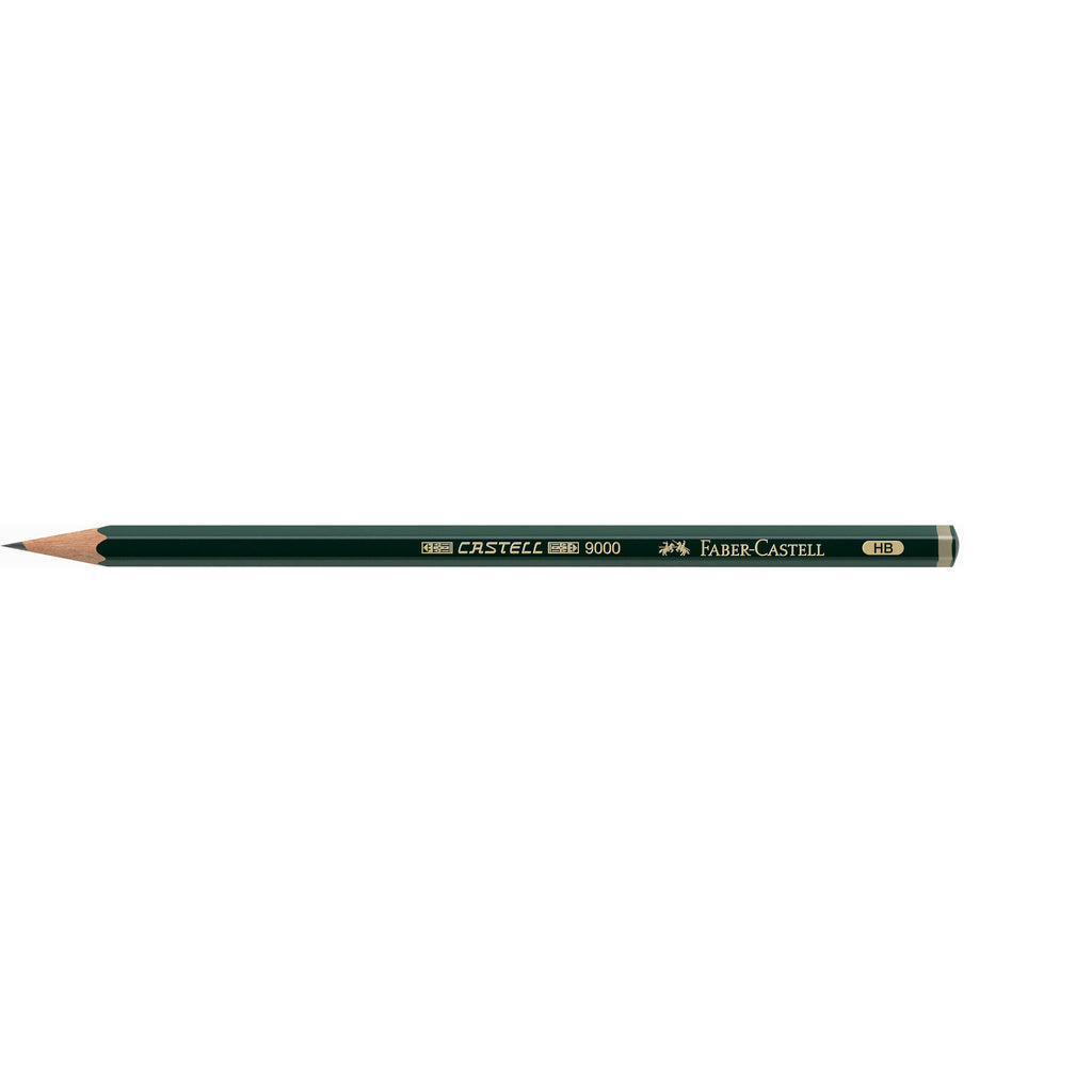 Castell® 9000 Graphite Pencils - Tin of 6