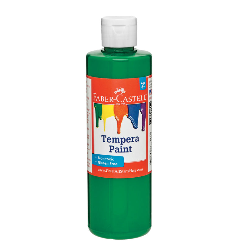 Green Tempera Paint (8 oz. bottles) - #14573