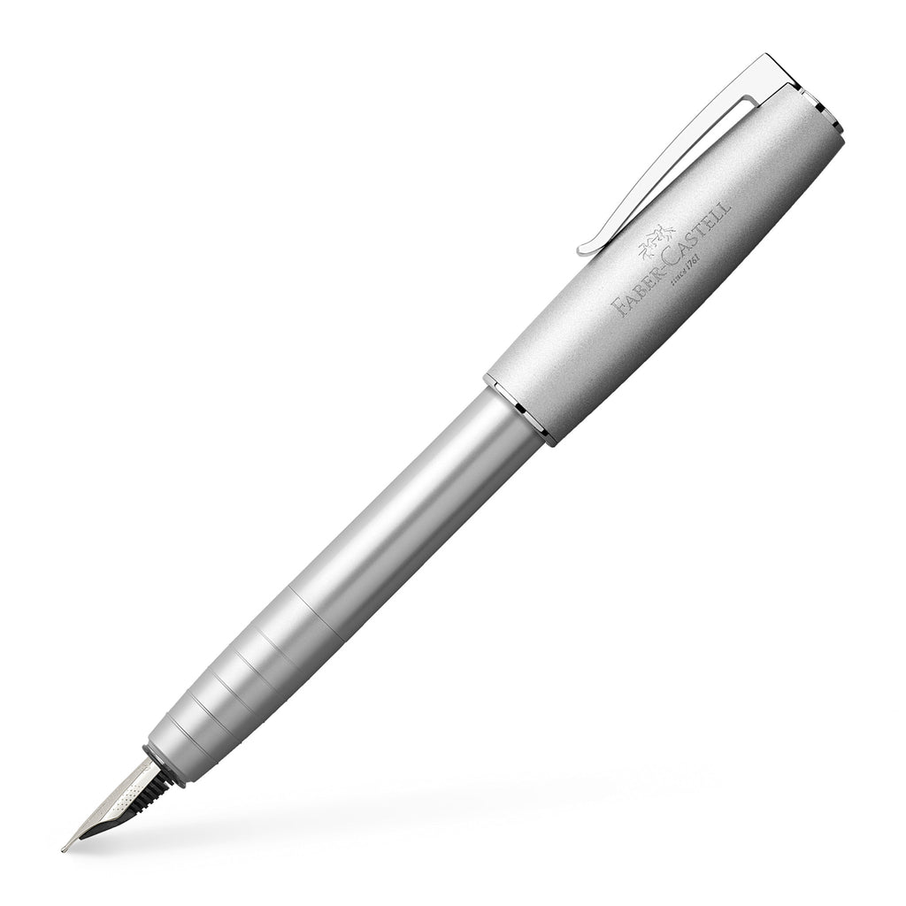 Loom Fountain Pen, Metallic Silver - Fine - #149201