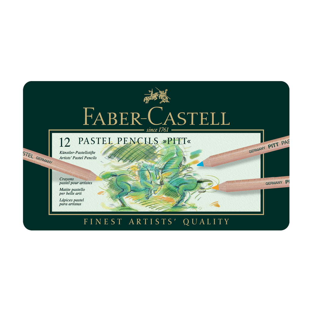 Pitt® Pastel Pencils - Tin of 12