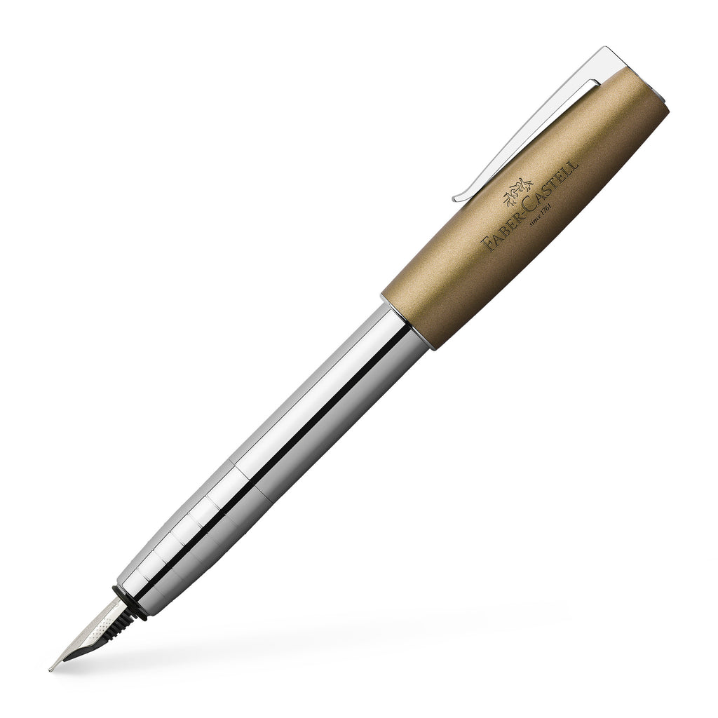 Loom Fountain Pen, Metallic Olive - Extra Fine - #149122