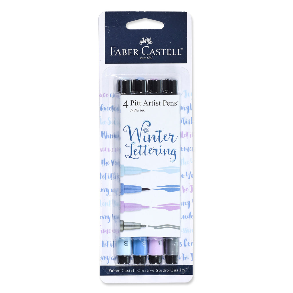 Pitt Artist Pen Lettering Set - Winter - #770086