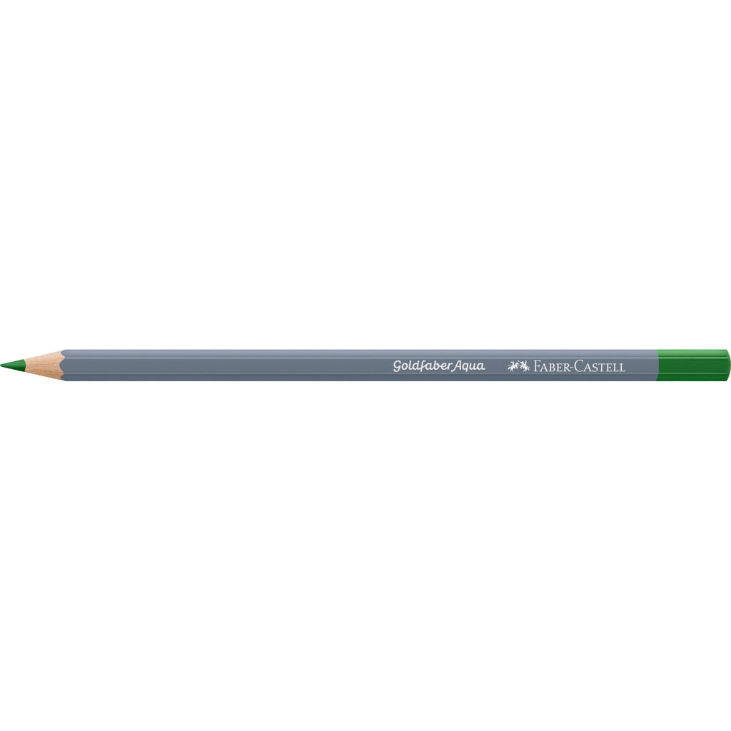 Goldfaber Aqua Watercolor Pencil - #266 Permanent Green - #114696