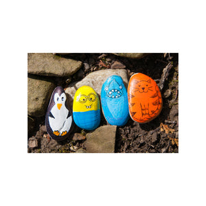 Hide & Seek Rock Painting - #6161000