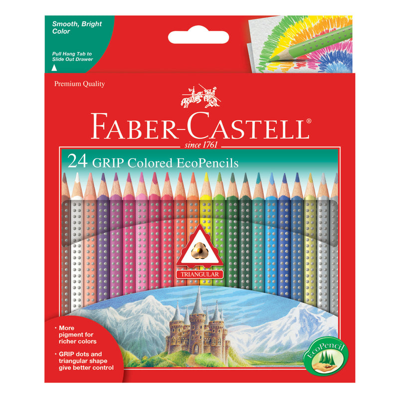 24 Grip Colored EcoPencils - #9121024