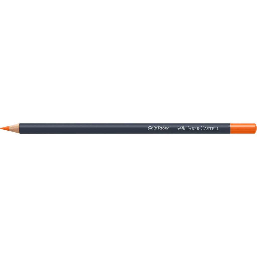 Goldfaber ™ Color Pencil - #115 Dark Cadmium Orange