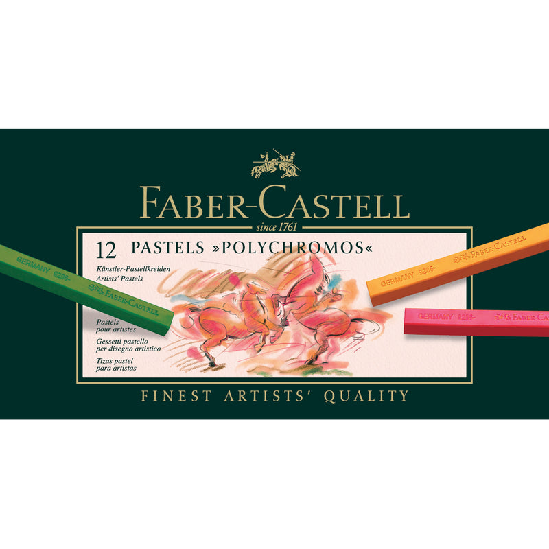 Polychromos® Artists' Pastel Crayons - Box of 12