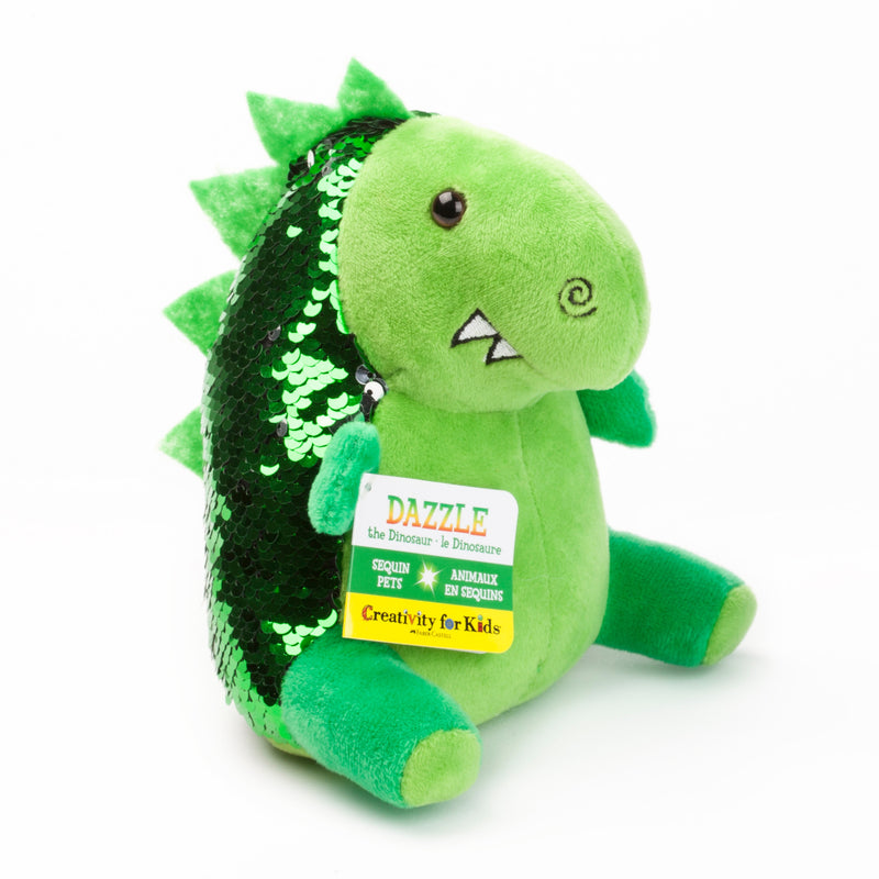 Mini Sequin Pets - Dazzle the Dinosaur