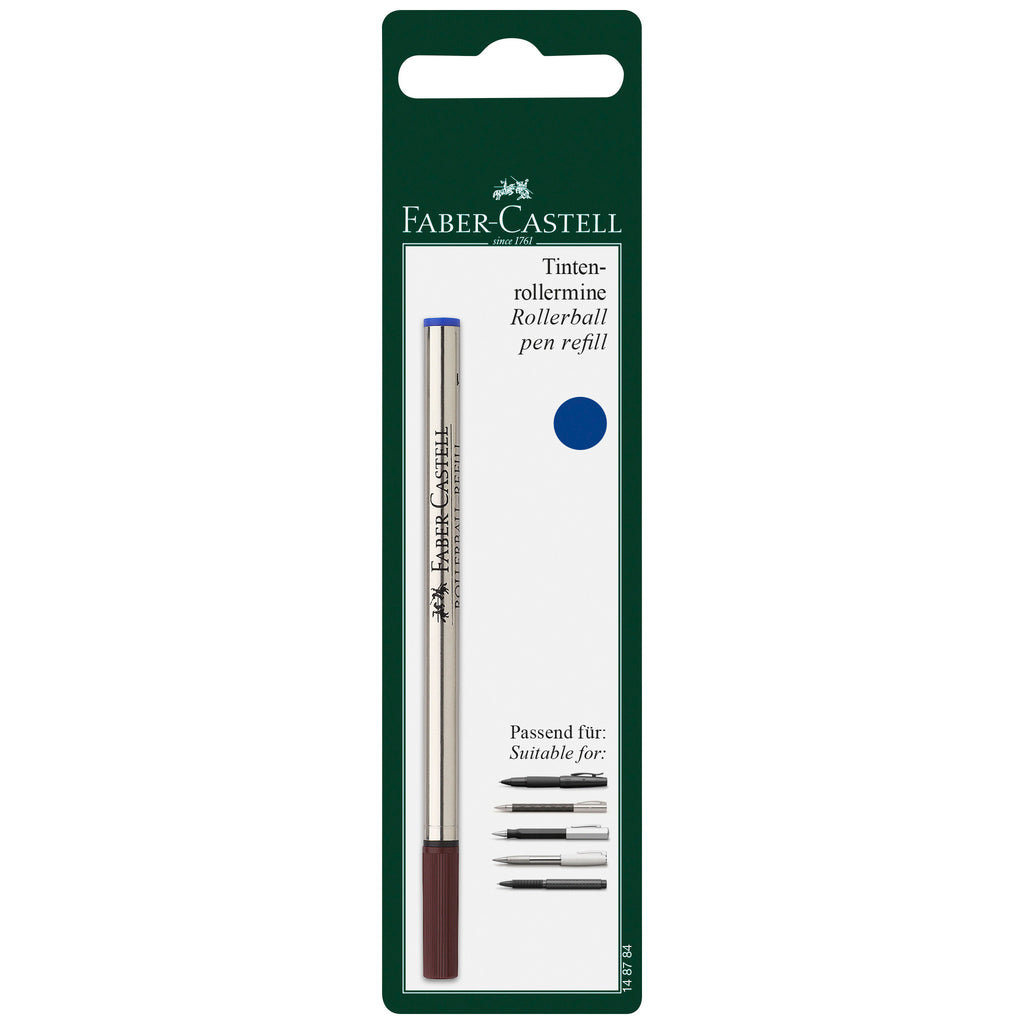 Rollerball Refill Blue, Medium
