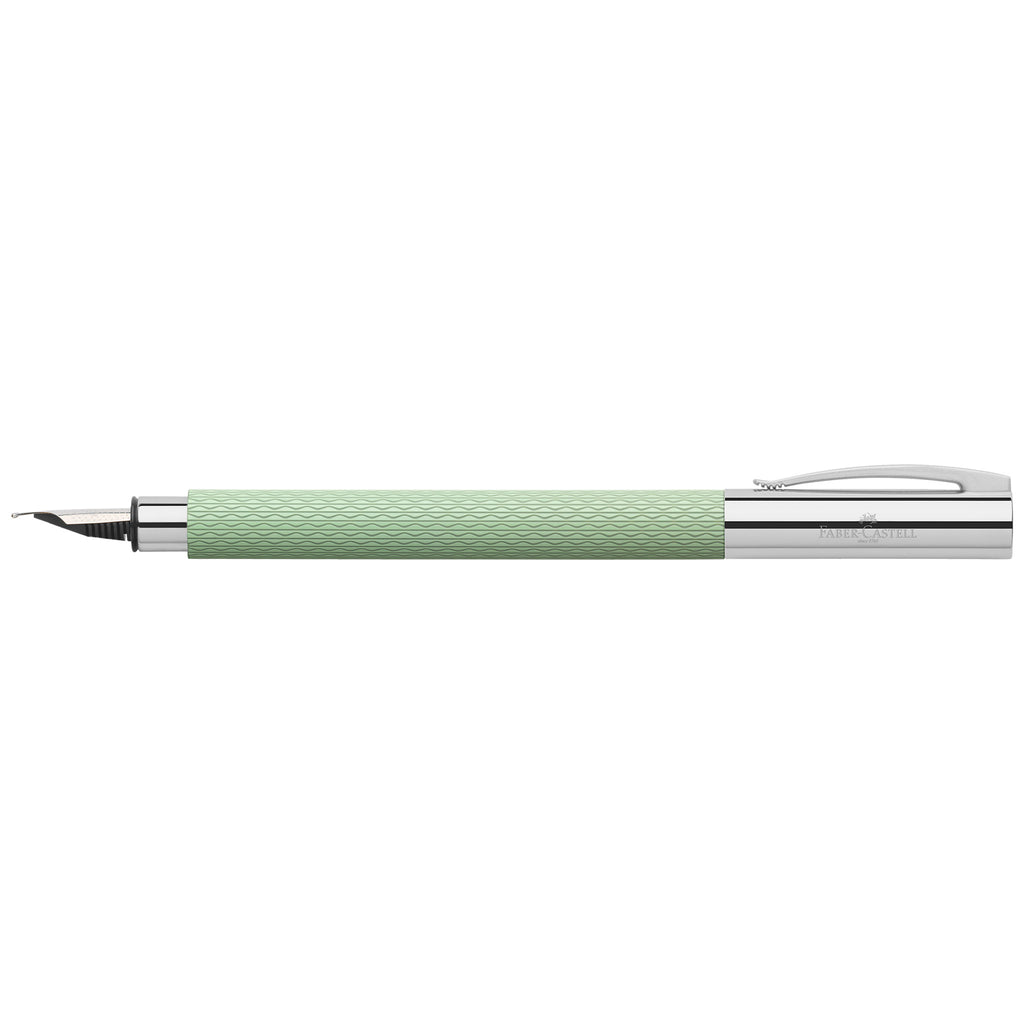 Ambition OpArt Fountain Pen, F - Mint Green - #147011