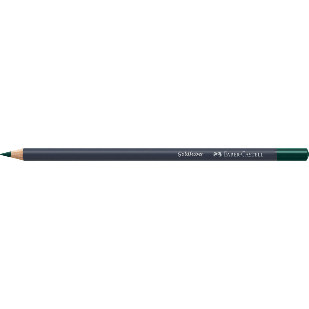 Goldfaber ™ Color Pencil - #158 Deep Cobalt Green