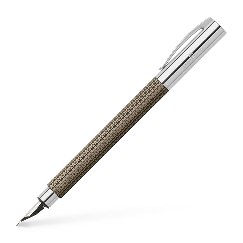 Ambition Fountain Pen, OpArt Black Sand - Medium - #147050
