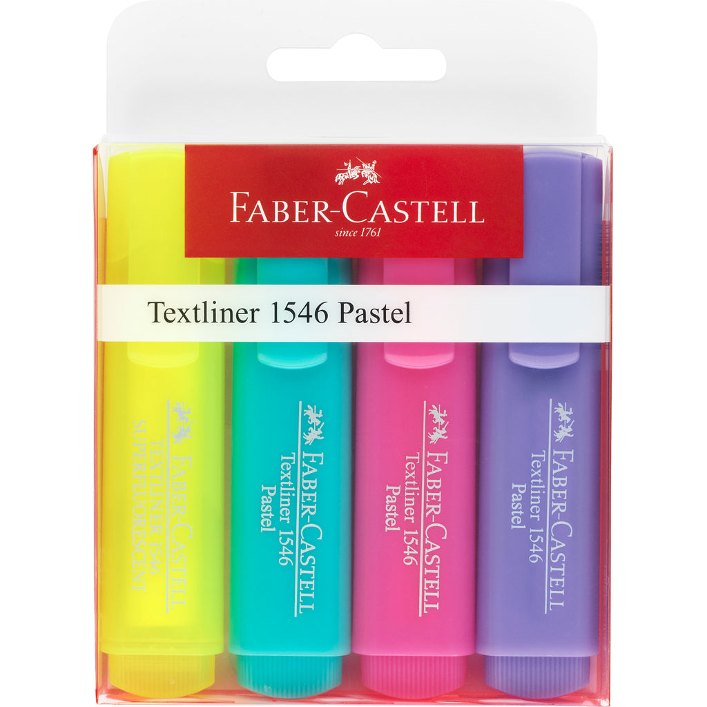 Highlighter 4ct Pastel Colors - #154610