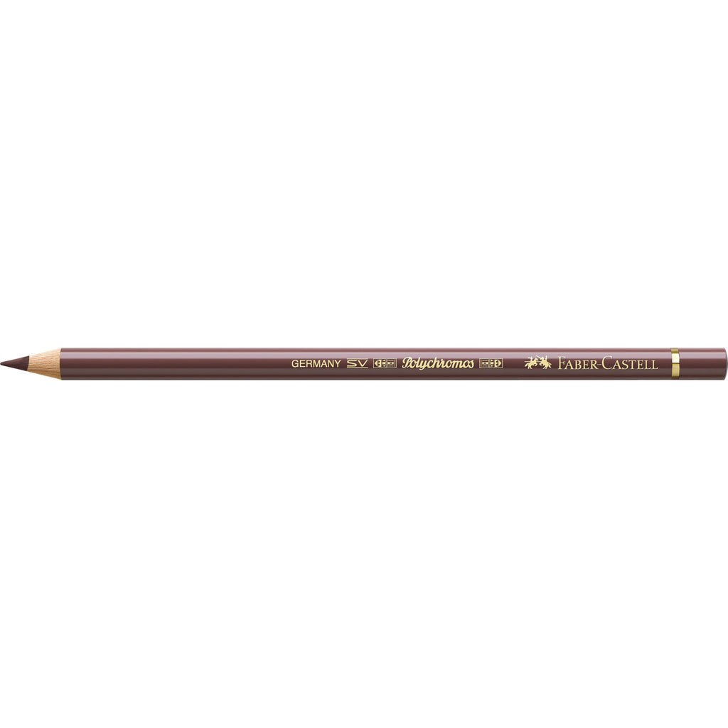 Polychromos® Artists' Color Pencil - #176 van Dyck Brown - #110176